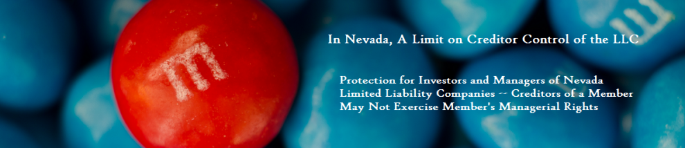 Protection for Nevada's limited liability companies